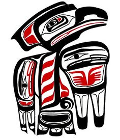 Haida Raven Decal  Billy Bedard artist