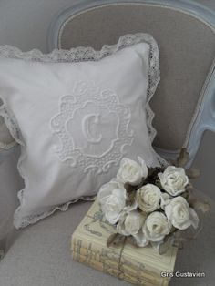 White                                  l                 Lace and Roses