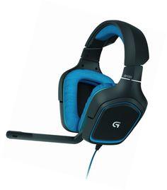 d2966b45306 Dettagli su Logitech G430 Cuffia Gaming con Microfono, Audio Dolby Surround  7.1 per PC e PS4