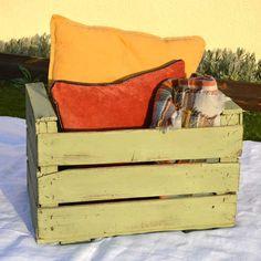 Caja de fruta antigua
