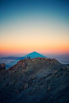 A la sombra del Teide
