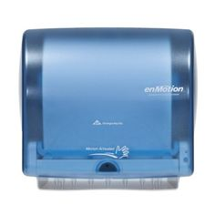 Georgia Pacific Enmotion 59487 Impulse 10 Automated Touchless Paper Towel Dispenser, Splash Blue by Unknown #Georgia #Pacific #Enmotion #Impulse #Automated #Touchless #Paper #Towel #Dispenser, #Splash #Blue #Unknown