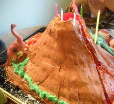 Volcano Cakes – Decoration Ideas | Little Birthday Cakes