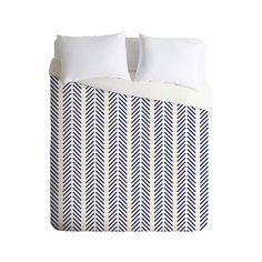 Nautical colors greatly enhance the appeal of this Sequential Chevron Duvet Cover. Designed for simplicity and style, this duvet cover offers a bright white background with vertical stripes of angled l...  Find the Sequential Chevron Duvet Cover, as seen in the Winter Bedding Sale Collection at http://dotandbo.com/collections/winter-bedding-sale?utm_source=pinterest&utm_medium=organic&db_sku=100615