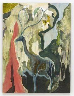 Giraffe grows a Doum Palm - Michael Armitage - 2014 - 98507