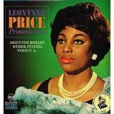 Leontyne Price album cover