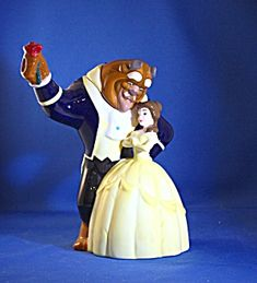 BEAUTY AND THE BEAST DISNEY TEAPOT (Porcelain and Pottery-Teapots)