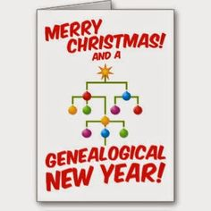 Under The Nut Tree Genealogy: Friday Funny, Merry Christmas and Happy New Year! #genealogy #familyhistory