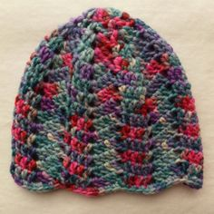 Baby Hat Ripple Pattern translated from Dutch. Knitted Hats a4a279cb1129