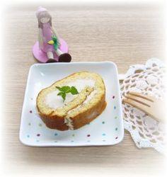 「おからパウダーとはちみつのロールケーキ」まるる   お菓子・パンのレシピや作り方【corecle*コレクル】