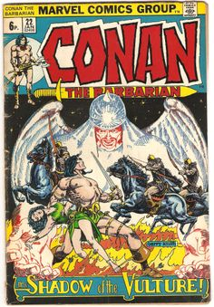 Conan The Barbarian. Vol. 1, No. 22. U.S. Marvel Comic. Jan. 1973.