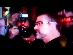 George Michael tells the press in Amsterdam he's back to full health - YouTube