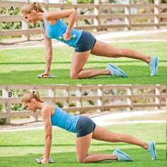 Tripod Row - The Easiest Strength Training Plan Ever! - Shape Magazine - Page 4