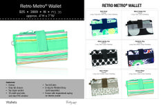 Thirty-One Summer 2014 Retro Metro Wallet  www.mythirtyone.com/lindseydecclessis