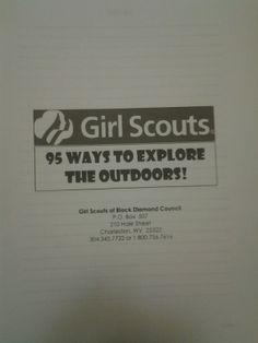 girl scout leader binder idea