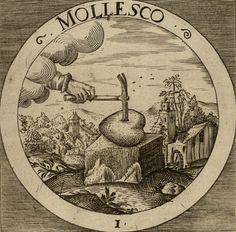 Daniel Cramer. The Rosicrucian Emblems of Daniel Cramer: Grow Soft, 1617.