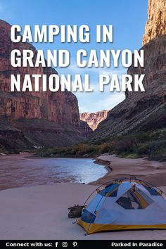 Great camping, hiking, and adventure travel destination. Pictures with the best views of the Colorado River. Tips for finding lodging and free campsites. The Grand Canyon in Arizona is the perfect family vacation. The north and south rim have overlooks perfect for photography. Take the kids, dogs, go solo or as a couple. Take the rv motorhome, fifth wheel or diy camper van conversion on a road trip. Grand Canyon South Rim, Grand Canyon National Park, National Parks, Diy Camper, Camper Van, Bright Angel Trail, Grand Canyon Camping, Visiting The Grand Canyon, Best Campgrounds