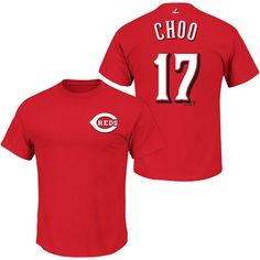 Is this what Choo want? We know you Choo. Cincinnati Reds Shin-Soo Choo Name & Number T-Shirt by Majestic Athletic. Only $26.99.