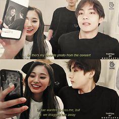 Bts Taehyung, Jimin, Twice Photoshoot, Bts Twice, Autumn Instagram, Kpop Couples, Tzuyu Twice, K Idols, Relationship Goals