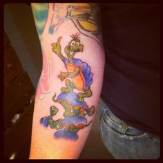 Dr. Seuss Yertle the Turtle tattoo