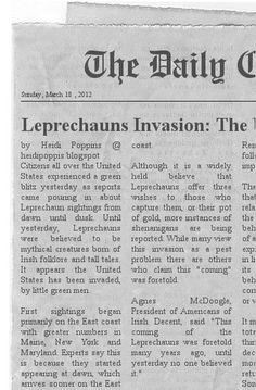 Leprechaun Invasion!!