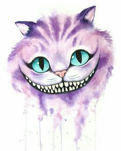 [No Longer Available] Cheshire Cat Aquarell von Denise Soden, 8 X 10 drucken, Sp. - [No Longer Available] Cheshire Cat Aquarell von Denise Soden, 8 X 10 drucken, Spenden … – Tat - Cheshire Cat Drawing, Cheshire Cat Tattoo, Cheshire Cat Wallpaper, Cheshire Cat Quotes, Cheshire Cat Smile, Cheshire Cat Makeup, Cheshire Cat Costume, Alice In Wonderland Drawings, Alice And Wonderland Quotes