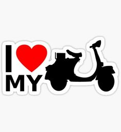 Vespa stickers featuring millions of original designs created by independent artists. Ktm Duke, Book Folding, Scooters, Sticker Design, Planner Stickers, Cricut, Italy, Artwork, Projects