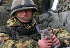 French Soldier In Kosovo