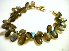 Faceted+Labradorite+Bracelet+Best+of+the+by+DeborahDurikDesigns,+$145.00