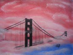 Artwork >> Virginia Patrick >> Sunset Bridge