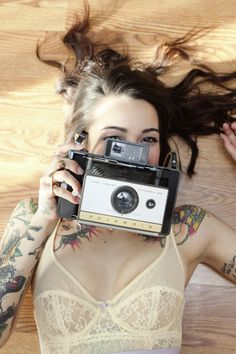 Get ink and wear lingerie.