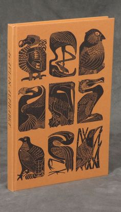 Not quite Celtic - But oh, so Wonderful! An Avian Alphabet; with linocuts by Elizabeth Rashley - Caliban Books - Specializing in Literary First Editions Book Cover Art, Book Cover Design, Book Design, Book Art, Design Art, Illustrations, Book Illustration, Graphic Design Books, Poster Design