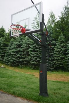 In-Ground Basketball Hoop Installation Do It Yourself Projects, Cool Diy Projects, Outdoor Projects, Outdoor Decor, Outdoor Spaces, Basketball Hoop, Basketball Backboard, French Country Decorating, Minimalist Bedroom