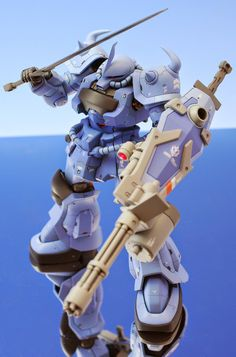 "HGUC 1/144 Gouf Custom ""Detailed"" Customized Build - Gundam Kits Collection News and Reviews"