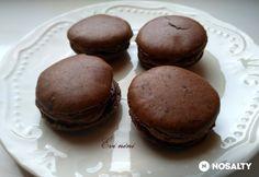 Csokoládés macaron