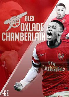 Alex Oxlade-Chamberlain Photoshop Artwork