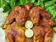 Ayam bakar bumbu rujak langkah memasak 4 foto Chicken Spices, How To Cook Chicken, Chicken Recipes, New Recipes, Cooking Recipes, Indonesian Cuisine, Recipe Steps, Tandoori Chicken, Dessert Recipes