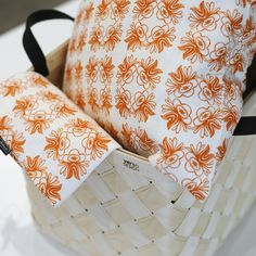 Lyckoboda pillows stored in Verso Design basket.