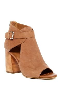 Image of & Union Odelle Bootie Leather Ankle Boots, Ankle Booties, Autumn Winter Fashion, Winter Style, Open Toe, Heeled Mules, Clogs, Booty, Nordstrom Rack