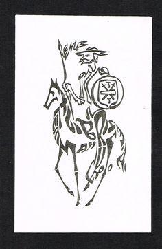 Ex Libris Don Quixote. Artist unknown.