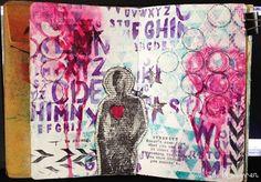 Art Journal Share: Be Strong