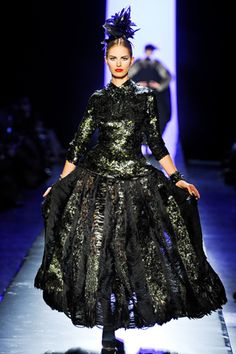 Jean Paul Gaultier Couture Fall 2011 from style.com