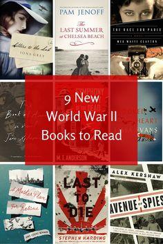 9 New World War II Books to Read