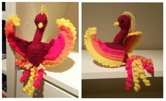 crochet phoenix | Phoenix Amigurumi by AppleGrayWolf on deviantART