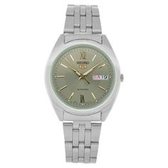 Seiko Men's SNXA03 Stainless-Steel Analog with Grey Dial Watch Seiko. $60.99. Water-resistant to 330 feet (100 M). Scratch resistant hardlex. Case diameter: 38 mm. Automatic-Self-Wind movement. Stainless steel case. Save 76%!