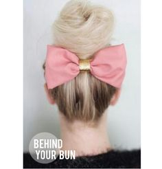 """11 Ways to Wear A Hair Bow""  from The Beauty Department"