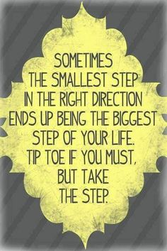 LOVE it! Infertility can feel like a super big mountain to climb, but try not to focus on the mile ahead, try to focus on the small first step and just get started!