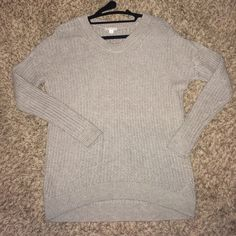 Gap Tan knit sweater Tank knit sweater from Gap. Very soft and comfortable GAP Sweaters Crew & Scoop Necks