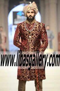 Traditional Jamawar Groom Sherwani Suit Groom Sherwani Suit Men 2016 2017 Roslyn New York NY US USA #groom #couture #indian #Menswear #Sherwani #Elegant #Bespoke  #NewArrivals #SherwaniSuit For #Mens #Designer #weddingsherwani   Online Shopping #UK #USA #Canada #Australia #SaudiArabia #Bahrain #Kuwait #Norway #Sweden #NewZealand #Austria #Switzerland #Germany #Denmark #France #Ireland #Mauritius and #Netherlands ❤ See more: www.libasgallery.com