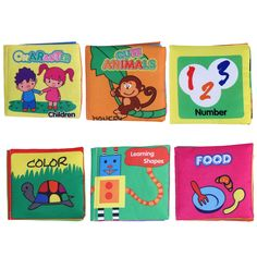 Bebé early learning educational toys rustle sonido infantiles libros de tela suave cochecito sonajero juguete recién nacido cuna cama toys 0-36 mes